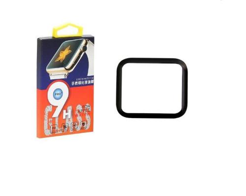 Защитное стекло Apple Watch 3D 40 мм с полной проклейкой