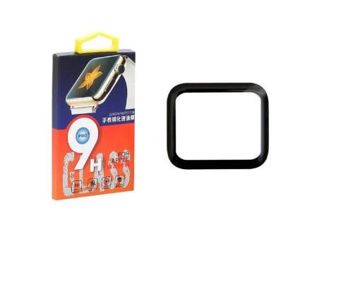 Защитное стекло Apple Watch 44 мм 3D с полной проклейкой