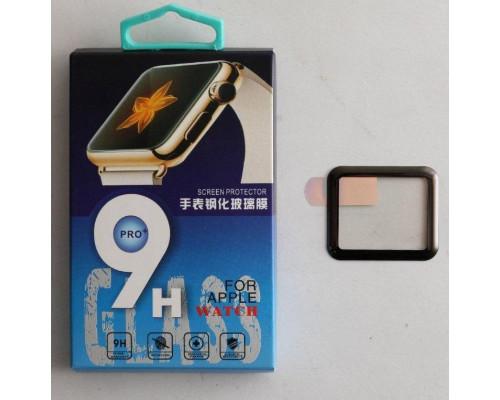 Защитное стекло Apple Watch 3D полная проклейка 42 mm