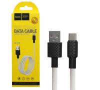 Кабель USB Type-C X29 1M HOCO белый