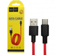 Кабель USB Type-C X29 1M HOCO красный