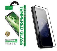 Защитное стекло HOCO для iPhone XS Nano со скругленными краями черное
