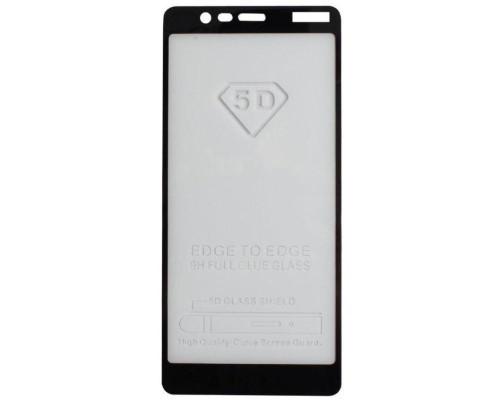 Защитное стекло для Nokia 5.1 с рамкой 9H Full Glue np 5D