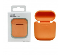 Чехол для Airpods protective case оранжевый