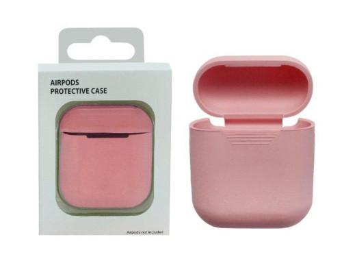 Чехол для Airpods protective case розовый