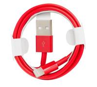 Кабель USB Lightning 1m красный SP