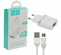 СЗУ HOCO C11 Micro USB 1A белое