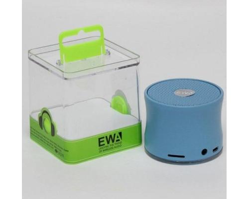 Портативная акустика EWA A109  Bluetooth синяя