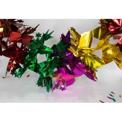 Гирлянда растяжка цветная вариант расцветки 4