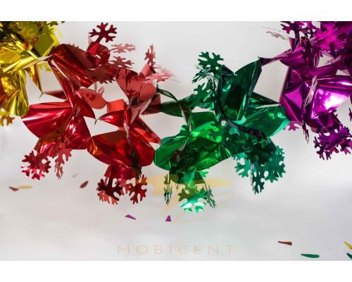 Гирлянда растяжка цветная вариант расцветки 5