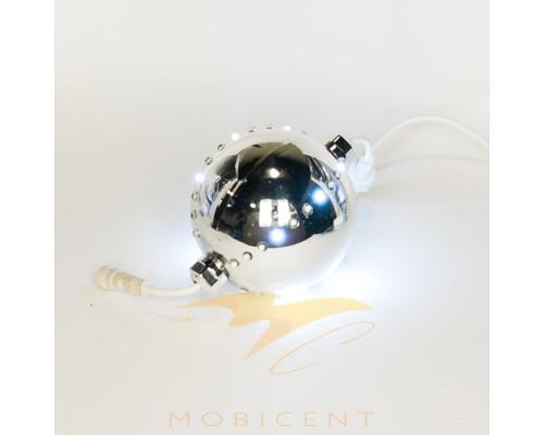 Шар подвесной светящийся диаметр 10 см