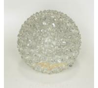Шар подвесной светящийся с микро цветами диаметр 19 см