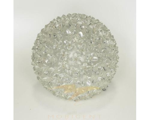 Шар подвесной светящийся с микро цветами диаметр 16 см