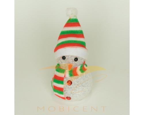 Фигура снеговика светящаяся