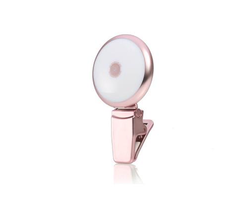Вспышка для селфи Remax Twilight Series Selfie Spotlight, розовый