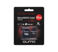 Карта памяти 32Gb microSDHC class10 Qumo ML