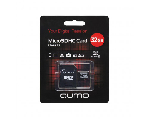32Gb microsdhc class10 qumo ML
