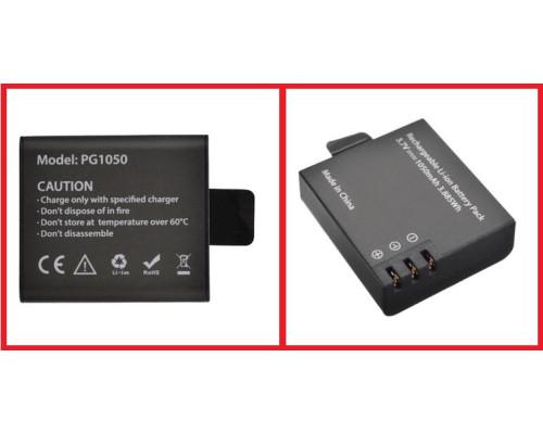 Аккумулятор для спорт камеры 1050 mAh