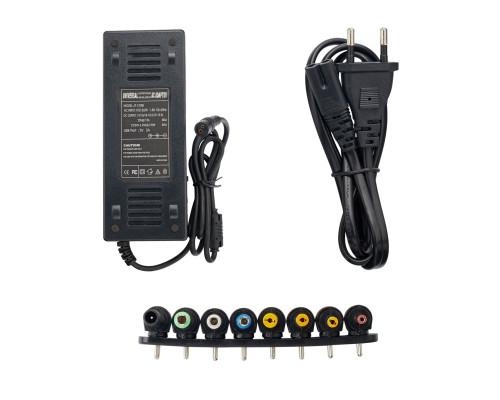 Универсальный блок питания ac/dc 12-20V 6A, 22-24V 5A, 120W с комплектом переходников