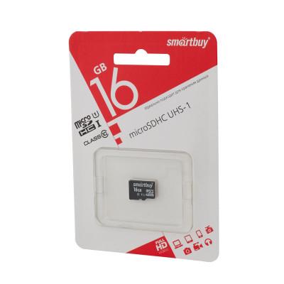 Карта памяти SmartBuy microSDHC Сlass 10 16gb