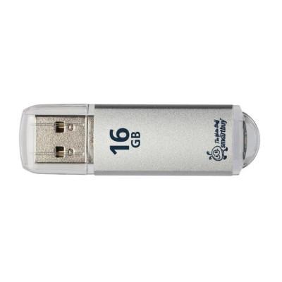 Флешка SmartBuy V-Cut USB 2.0 16Gb серебристный