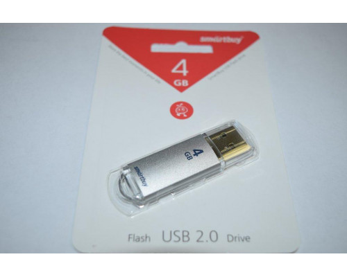Флешка SmartBuy V-Cut USB 2.0 4GB