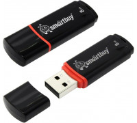 Флешка SmartBuy Crown USB 2.0 8Gb черный