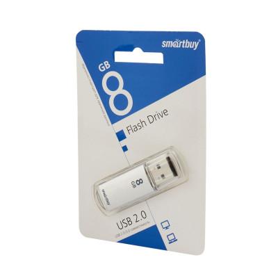 Флешка SmartBuy V-Cut USB 2.0 64Gb серебристый