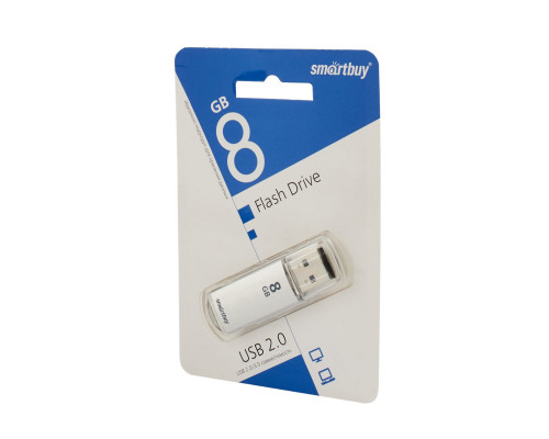 Флешка SmartBuy V-Cut USB 2.0 64Gb серебристый