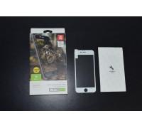 Защитное стекло для iPhone 6 Baseus 3D белое