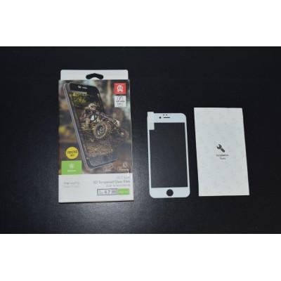 Защитное стекло для iPhone 6S Baseus 3D белое