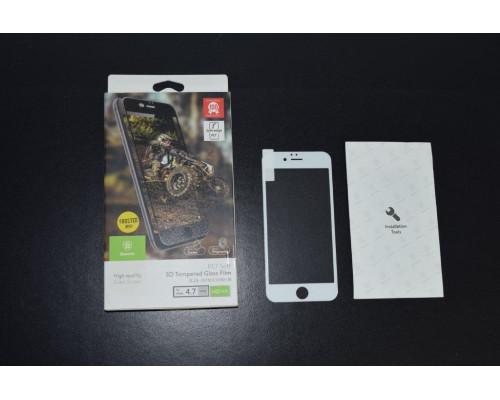 Защитное стекло iPhone 6S Baseus 3D белое