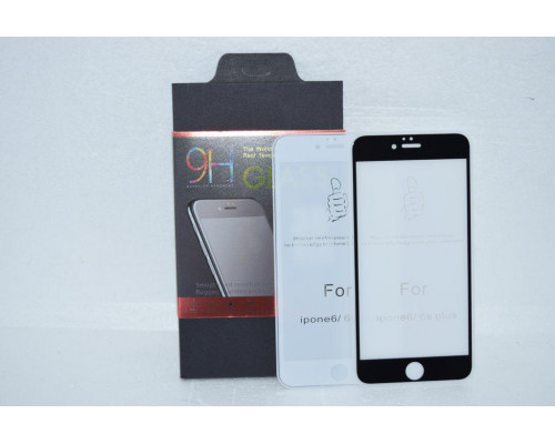 Защитное стекло для iPhone 6S Plus толщиной 0.25 мм silk printing