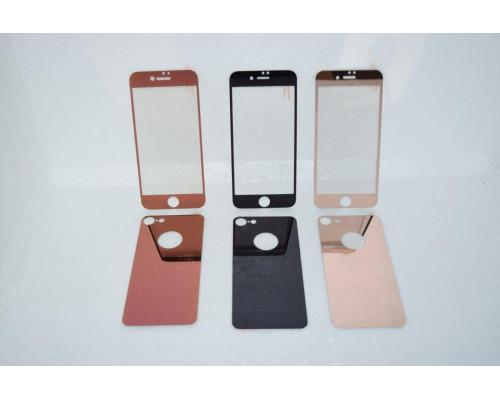 Защитное стекло для iPhone 6S Plus комплект стекло для на дисплей и заднюю панель