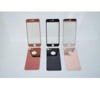 Защитное стекло для iPhone 7 Plus 5D комплект 2 в 1 - стекло для на экран и заднюю панель телефона