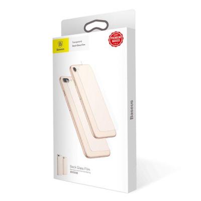 Защитное стекло для iPhone 8 на заднюю часть Baseus