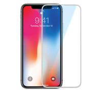 Защитное стекло для iPhone X белое