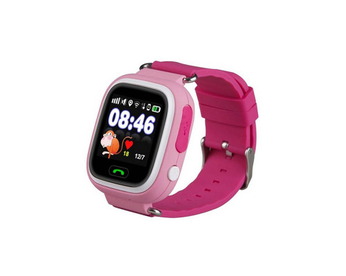 Часы Baby Smart Watch Q90 GPS розовые