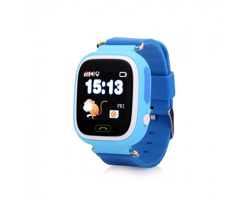 Часы Baby Smart Watch Q90 GPS голубые