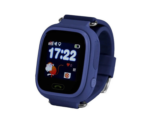 Часы Baby Smart Watch Q90 GPS синие