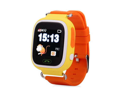 Часы Baby Smart Watch Q90 GPS оранжевые