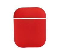Чехол силиконовый для AirPods 2, красный
