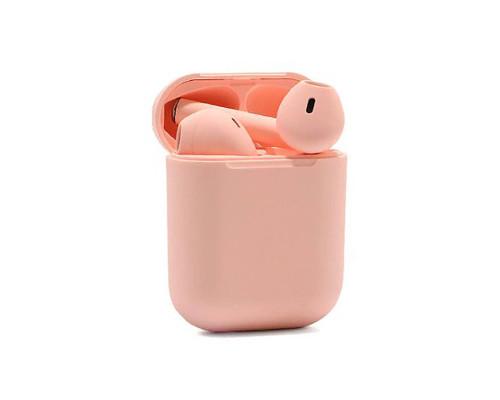 Беспроводные наушники Inpods 12 Macaron Bluetooth v5.0, персиковый