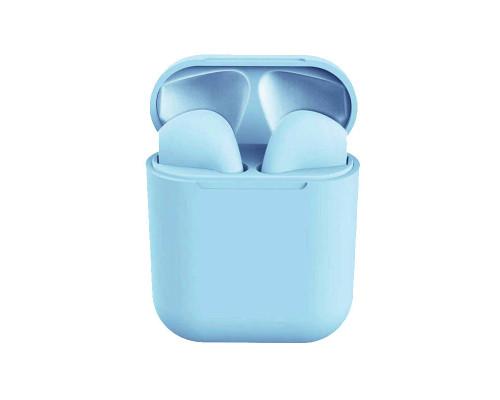 Беспроводные наушники Inpods 12 Macaron Bluetooth v5.0, голубой