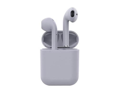 Беспроводные наушники Inpods 12 Macaron Bluetooth v5.0, серый