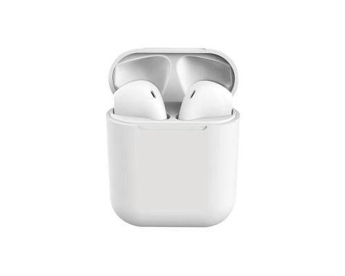 Беспроводные наушники Inpods 12 Macaron Bluetooth v5.0, белый