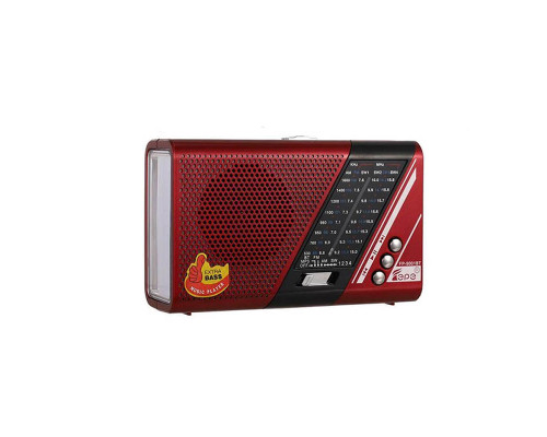 Колонка FM-приемник FP-9001BT, красный