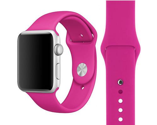 Ремешок для Apple Watch 38 - 40 мм силиконовый лиловый