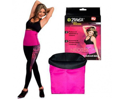 Пояс Zumba для похудения живота, размер L